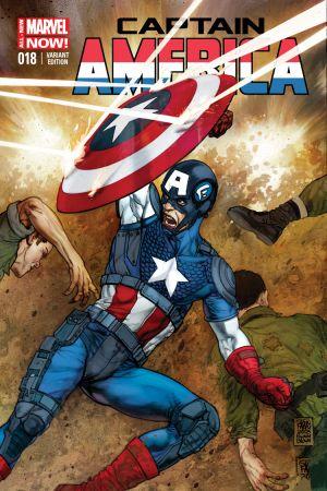 Captain America (2012) #18 (Fabry Variant)