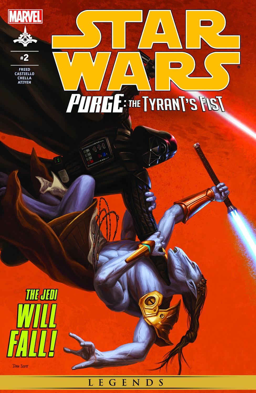 Star Wars: Purge - The Tyrant's Fist (2012) #2