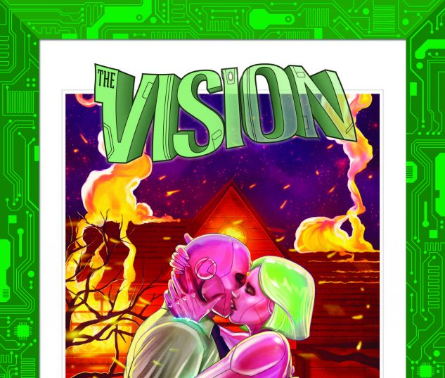 cover from Vision Director's Cut (2017) #3