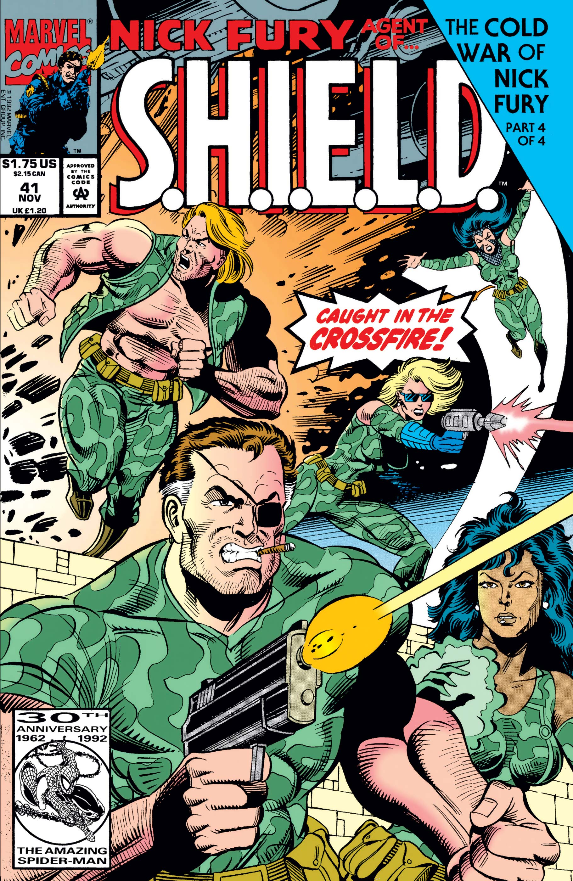 Nick Fury, Agent of S.H.I.E.L.D. (1989) #41