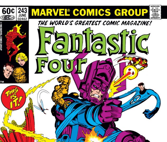 Fantastic Four (1961) #243