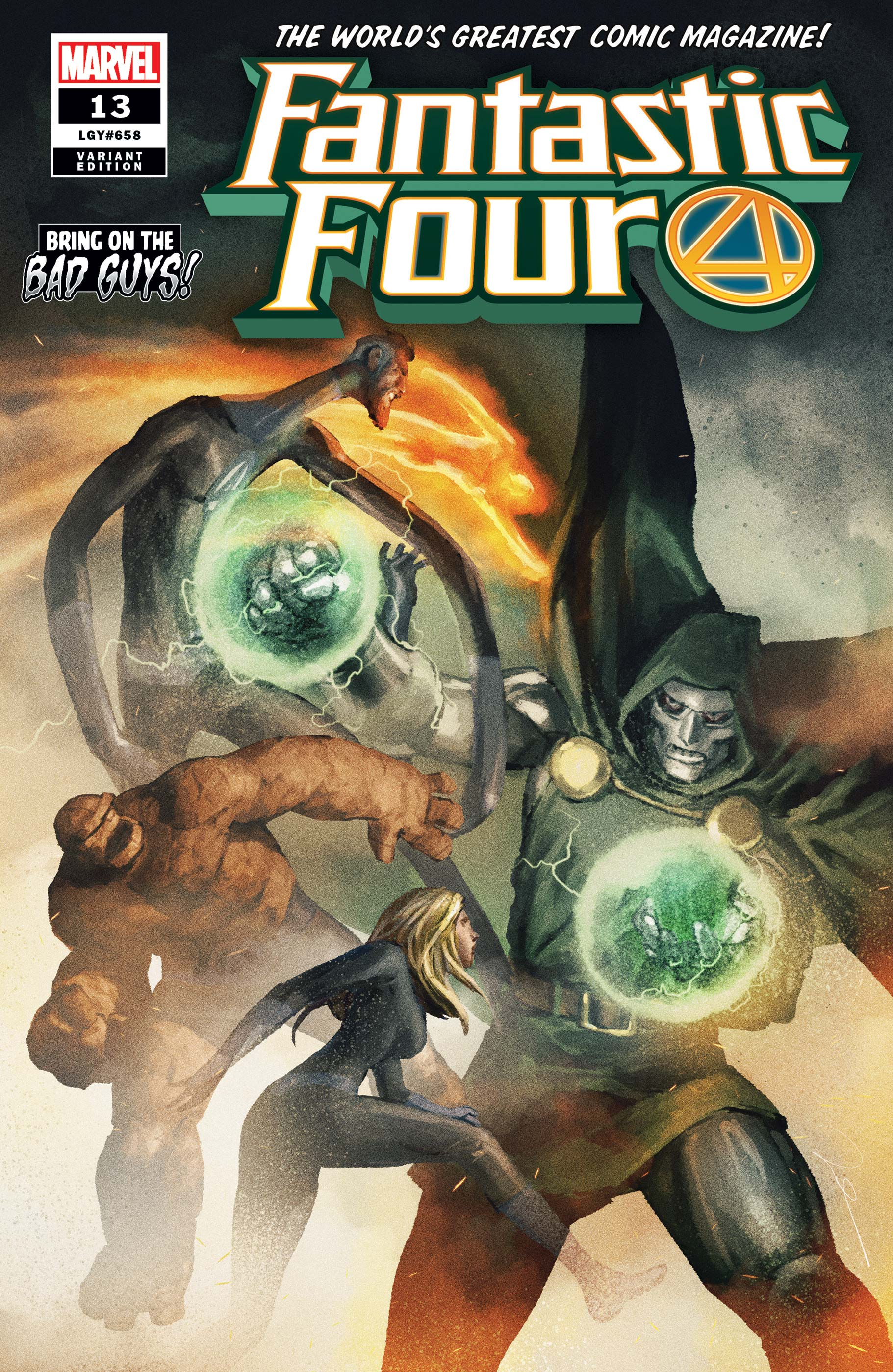 Fantastic Four (2018) #13 (Variant)