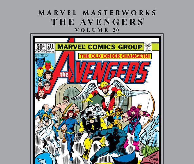 MARVEL MASTERWORKS: THE AVENGERS VOL. 20 HC #20