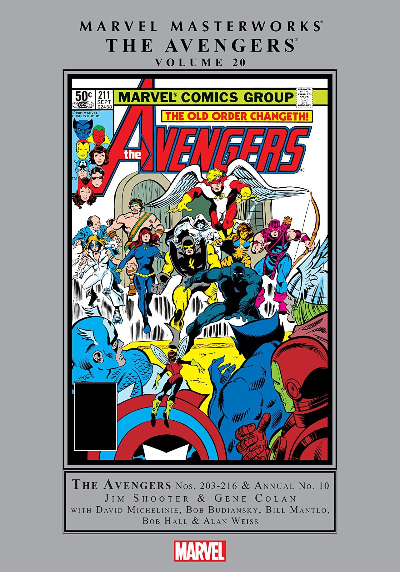 Marvel Masterworks: The Avengers Vol. 20 (Hardcover)
