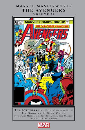 Marvel Masterworks: The Avengers Vol. 20 (Hardcover)