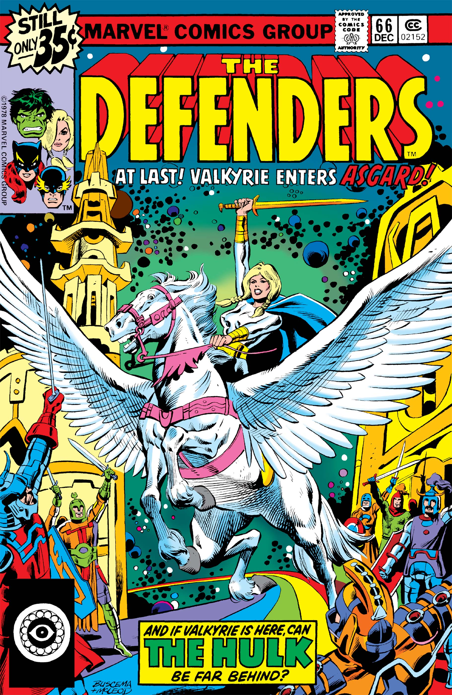 Defenders (1972) #66