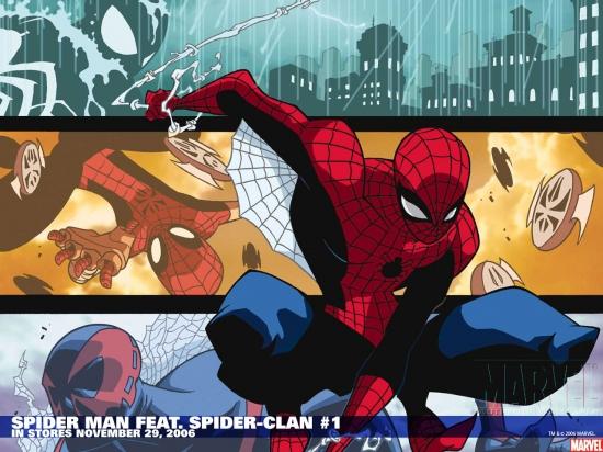 Spider-Man Family Featuring Spider-Clan (2006) #1 Wallpaper