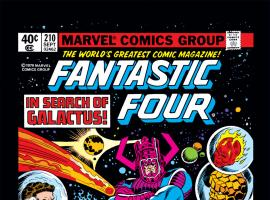 Fantastic Four (1961) #210 Cover