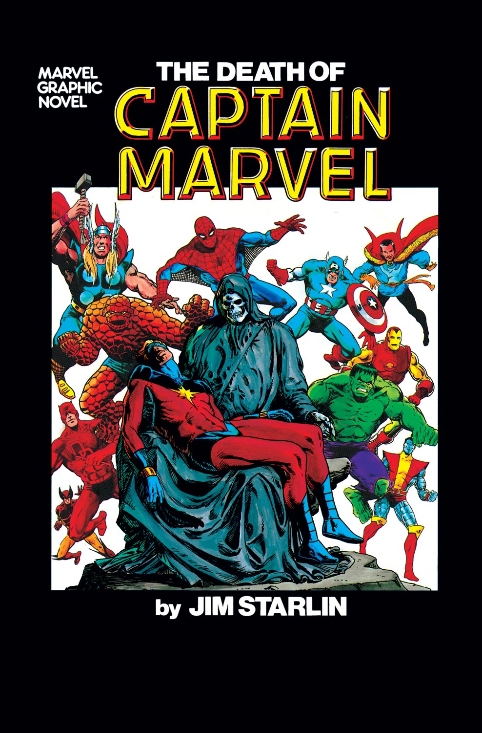 The Death of Captain Marvel (1982)
