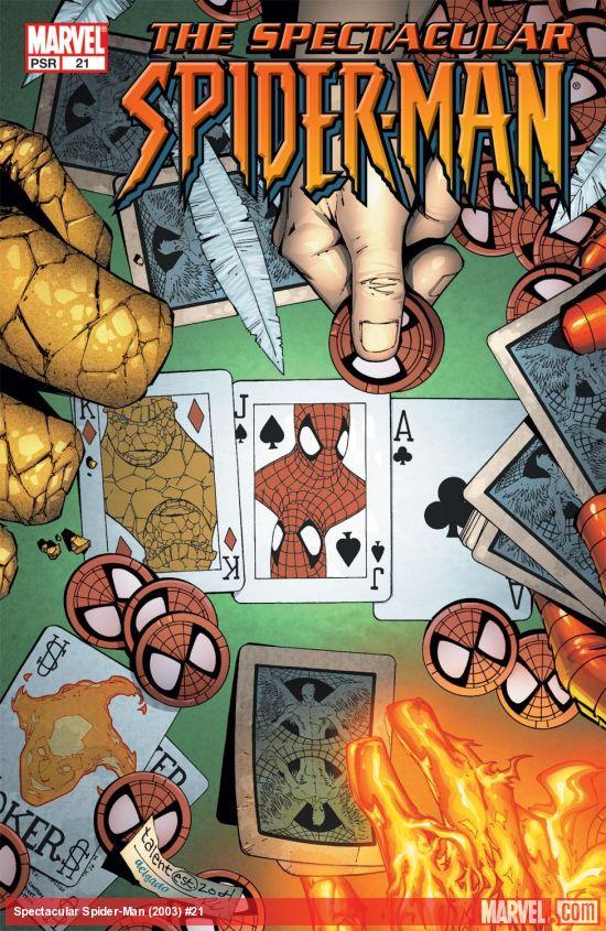 Spectacular Spider-Man (2003) #21