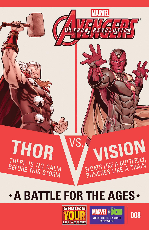Marvel Universe Avengers: Ultron Revolution (2016) #8