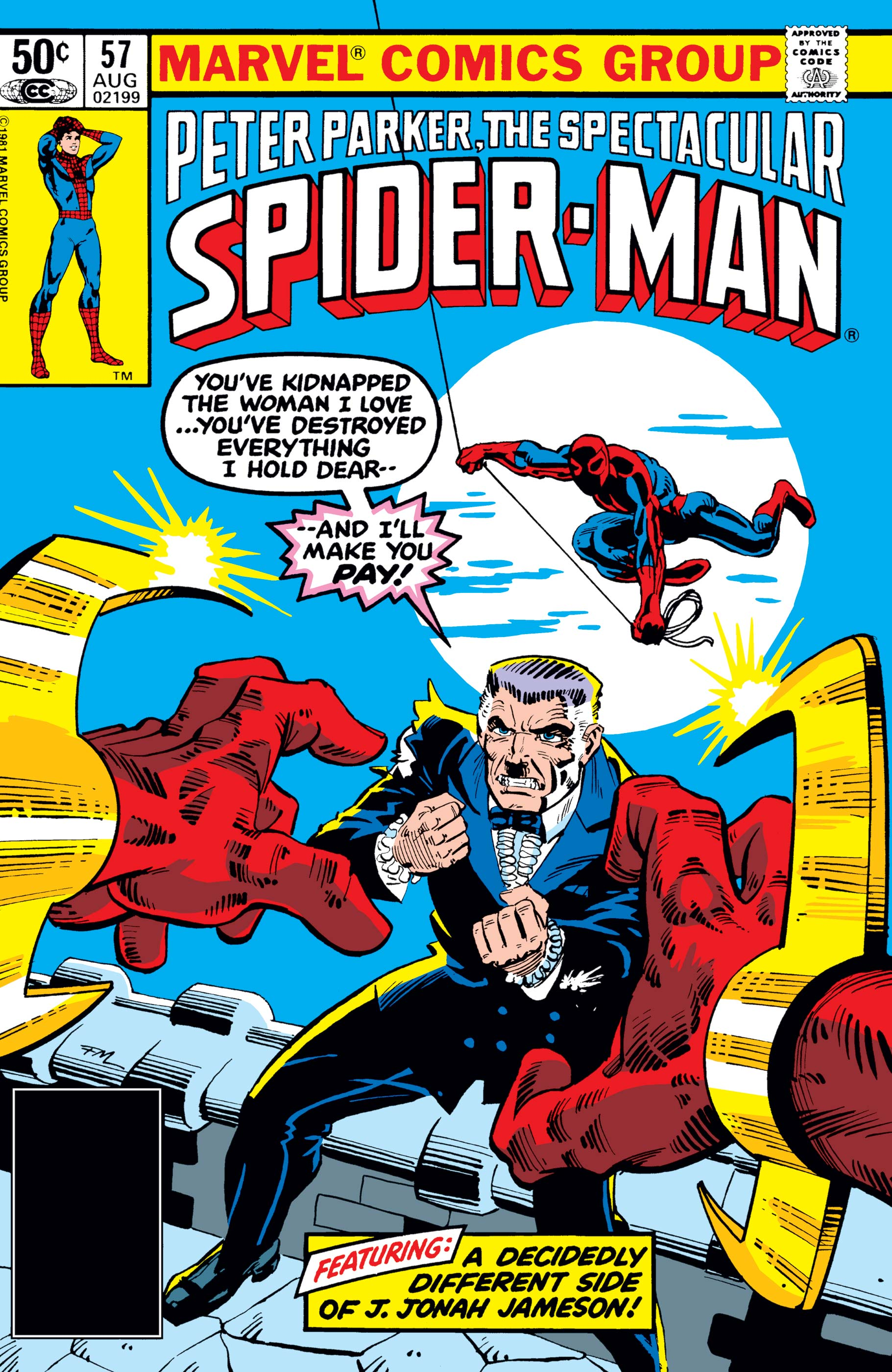Peter Parker, the Spectacular Spider-Man (1976) #57