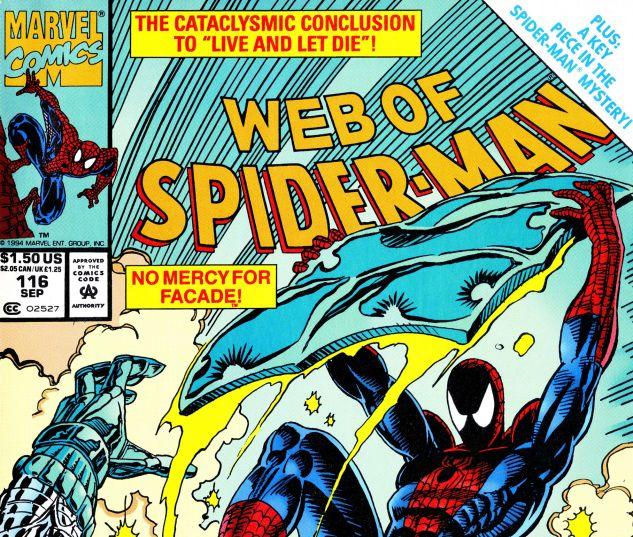 Web of Spider-Man (1985) #116