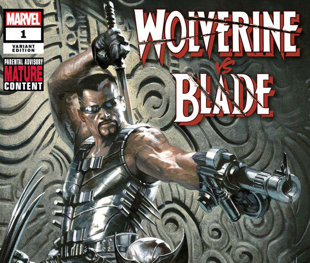 WOLVERINE VS. BLADE SPECIAL 1 DELL'OTTO VARIANT #1
