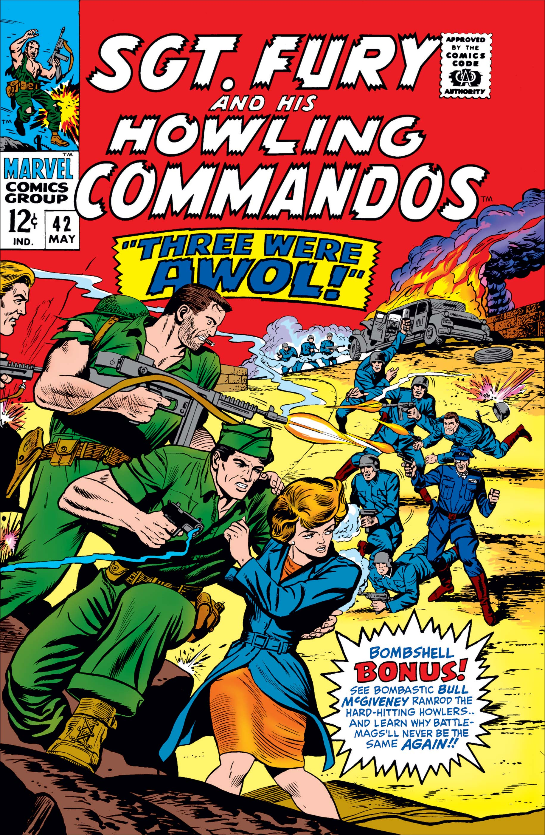 Sgt. Fury (1963) #42