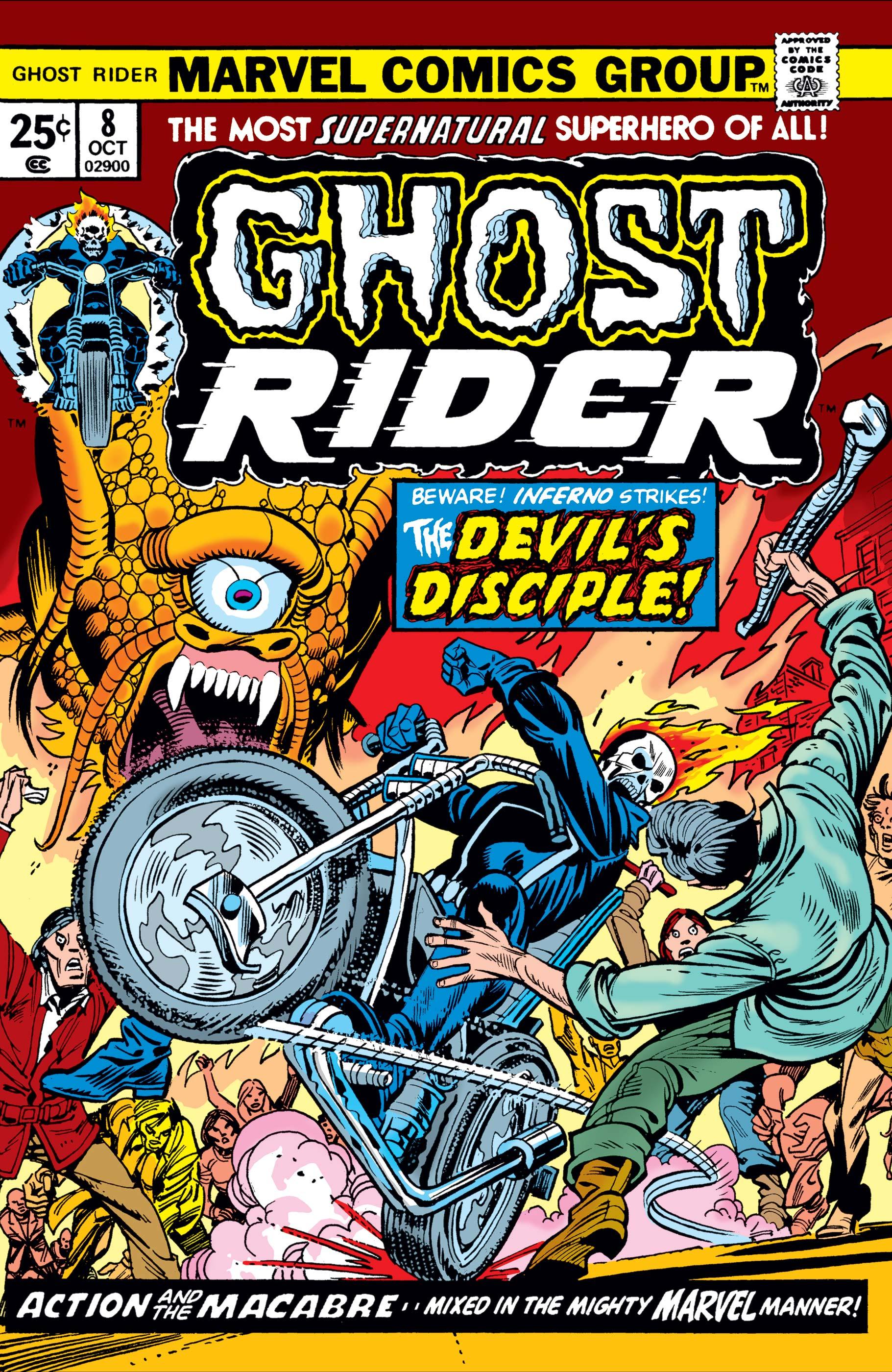 Ghost Rider (1973) #8