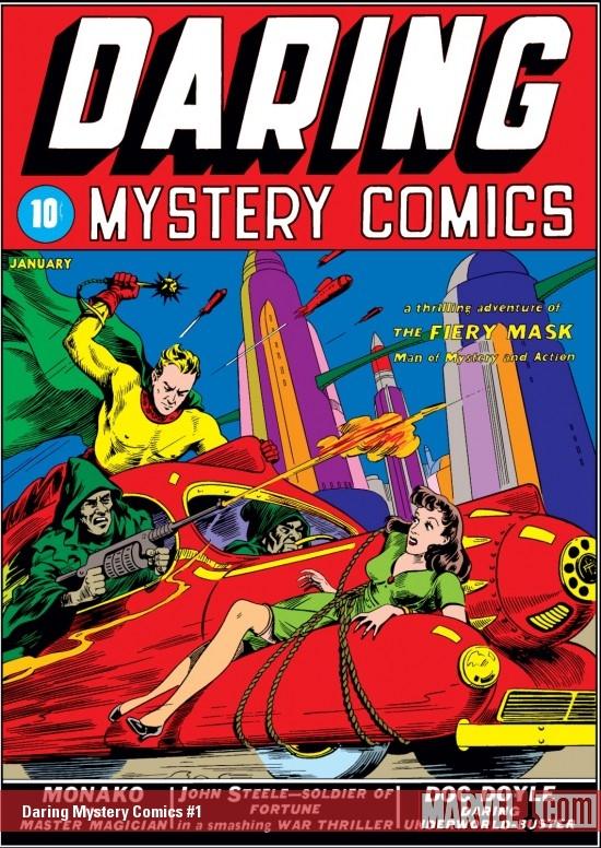 Daring Mystery Comics (1940) #1