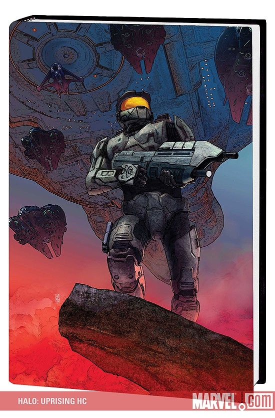 Halo: Uprising (Hardcover)
