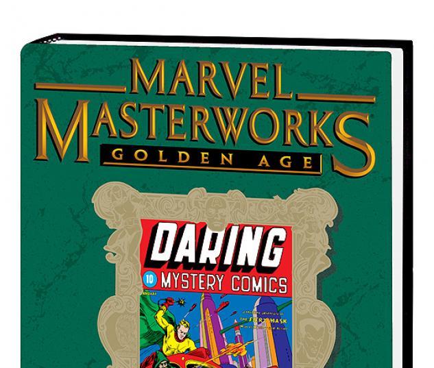 MARVEL MASTERWORKS: GOLDEN AGE DARING MYSTERY VOL. 1 #0