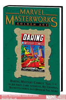 Marvel Masterworks: Golden Age Daring Mystery Vol. 1 (Hardcover)