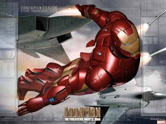 Iron Man Movie: Iron Man #1