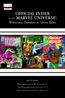 Wolverine, Punisher & Ghost Rider: Official Index to the Marvel Universe #4