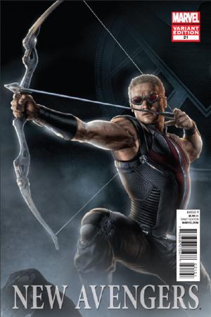 New Avengers (2010) #21 (Movie Variant)