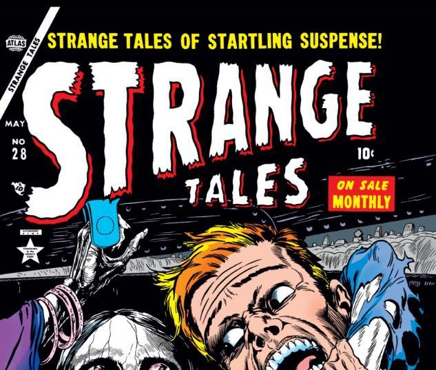 Strange Tales (1951) #28 Cover