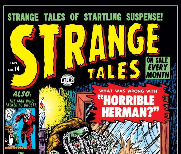 Strange Tales (1951) #14 Cover