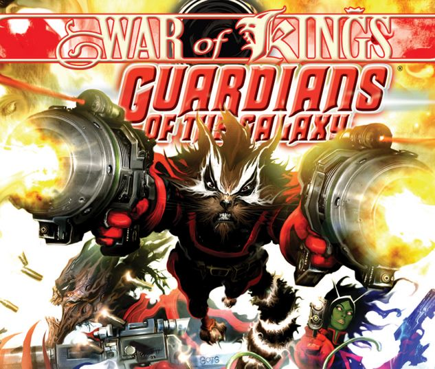 GUARDIANS OF THE GALAXY VOL. 2: WAR OF KINGS BOOK 1 (HARDCOVER) - cover art