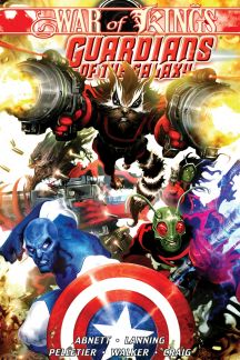 Guardians of the Galaxy Vol. 2: War of Kings Book 1 (Hardcover)