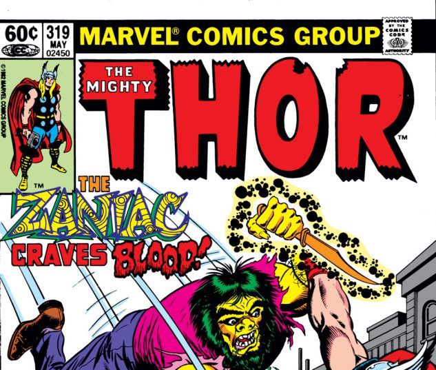 Thor (1966) #319 Cover
