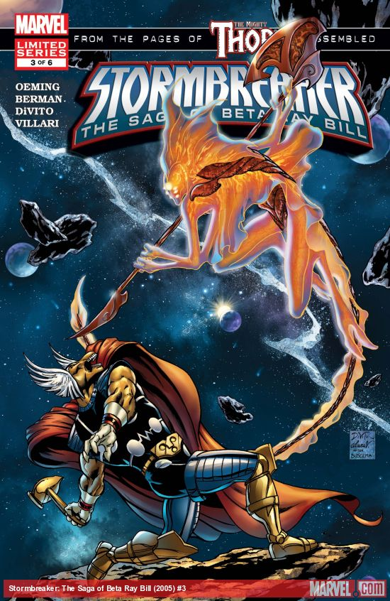 Stormbreaker: The Saga of Beta Ray Bill (2005) #3