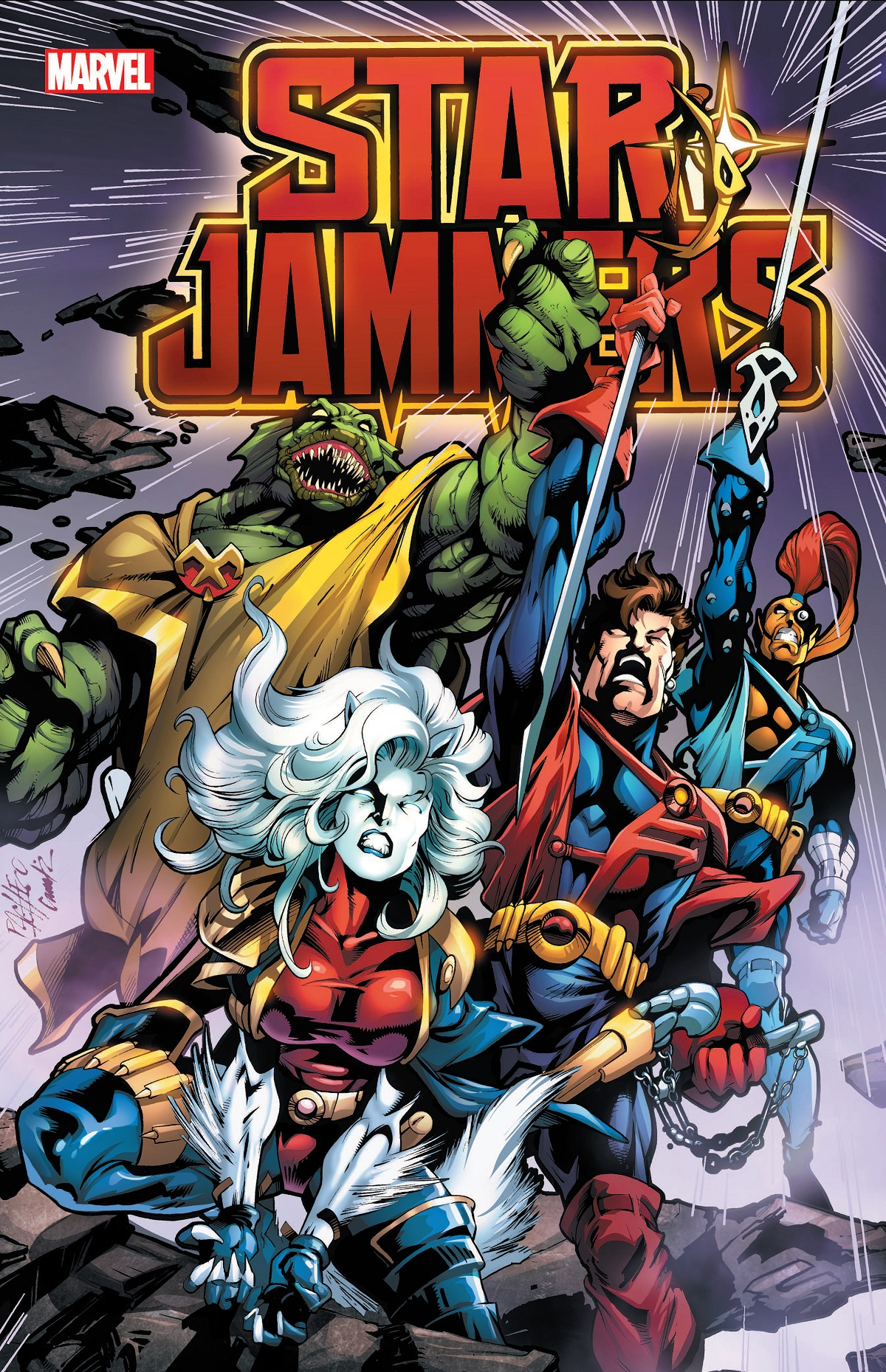 Starjammers (Trade Paperback)