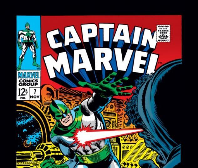 CAPTAIN MARVEL #7 COVER