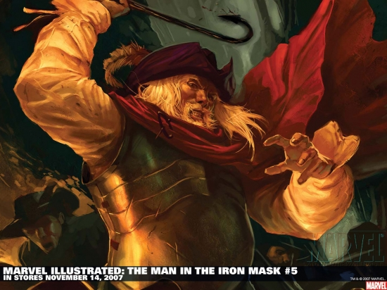 Marvel Illustrated: The Man in the Iron Mask (2007) #5 Wallpaper