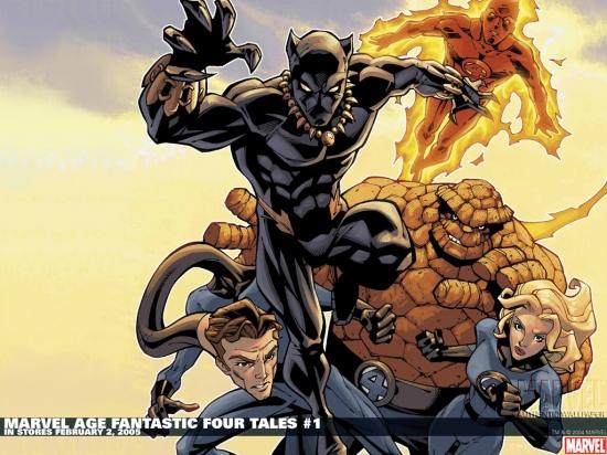 Marvel Age Fantastic Four Tales (2005) #1 Wallpaper