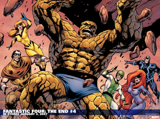 Fantastic Four: The End (2006) #4 Wallpaper