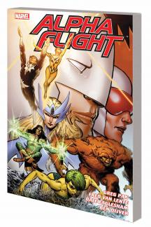 Alpha Flight By Greg Pak & Fred Van Lente Vol. 1 TPB (Trade Paperback)