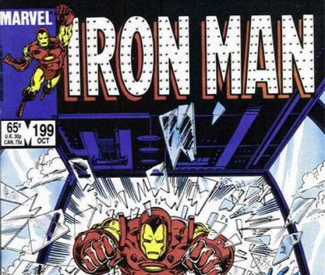 Iron Man #199 cover