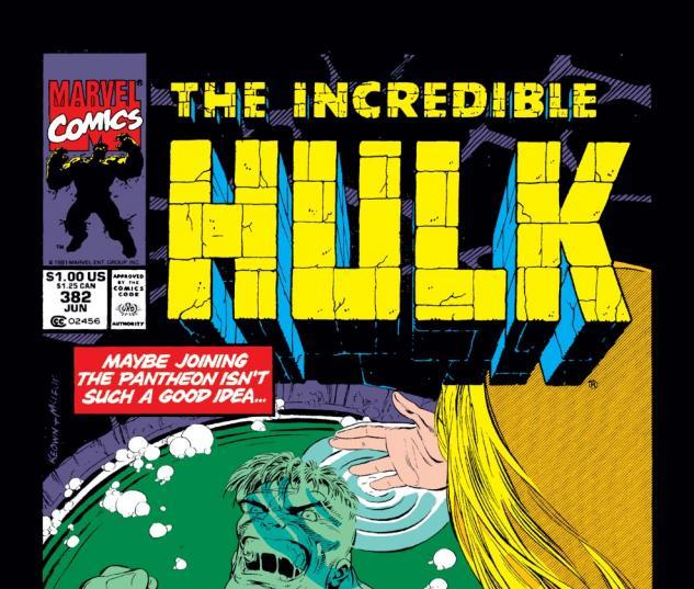Incredible Hulk (1962) #382 Cover
