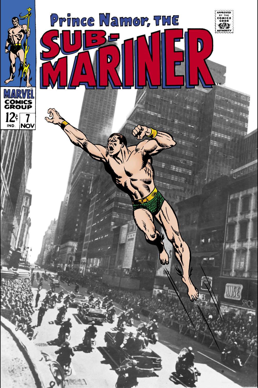 Sub-Mariner (1968) #7