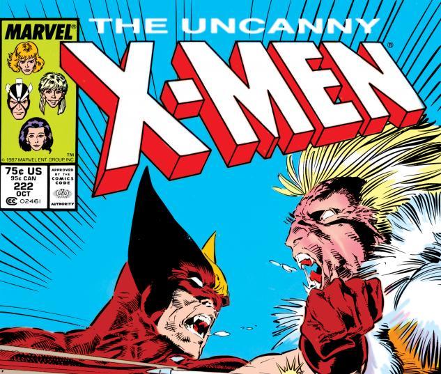Uncanny X-Men (1963) #222 Cover