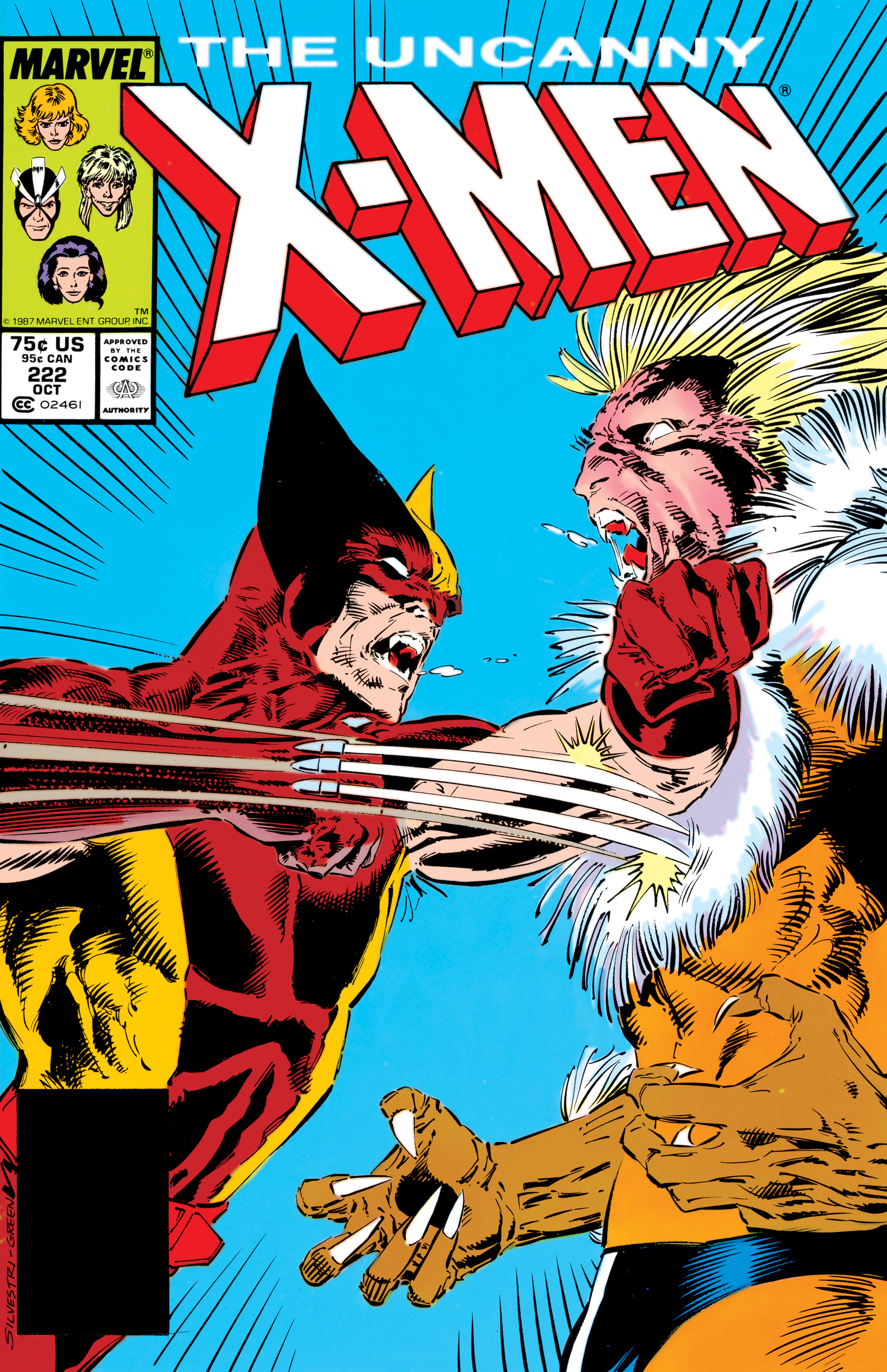 Uncanny X-Men (1963) #222