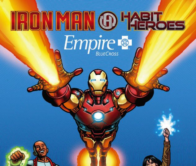 Empire BlueCross Presenta:  Iron Man & Habit Heroes #1