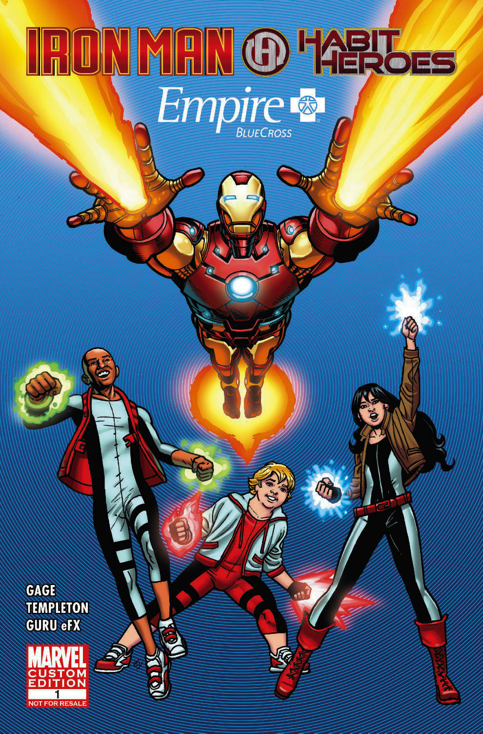 Empire BlueCross Presenta:  Iron Man & Habit Heroes (2013) #1