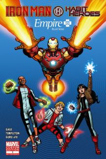 Empire BlueCross Presenta:  Iron Man & Habit Heroes #1