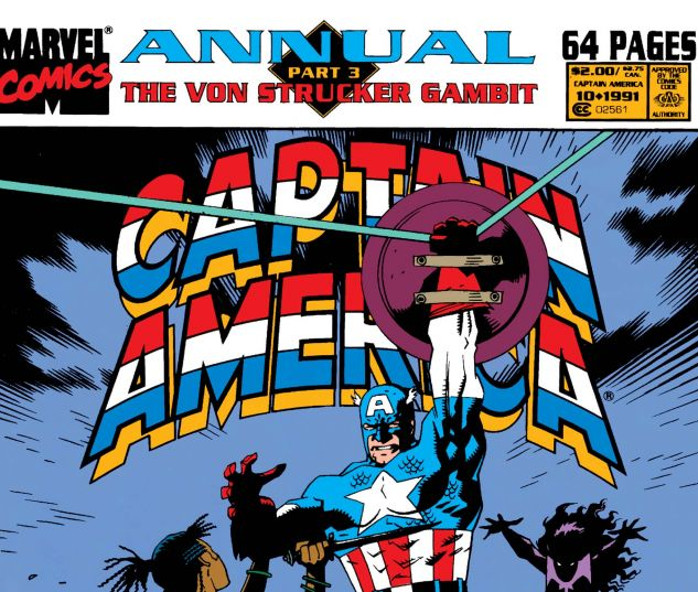 Captain America Annual (1971) #10