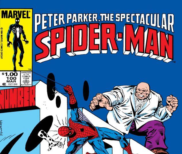 PETER PARKER, THE SPECTACULAR SPIDER-MAN (1976) #100