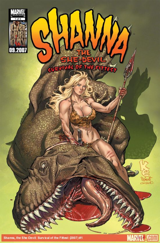 Shanna, the She-Devil: Survival of the Fittest (2007) #1